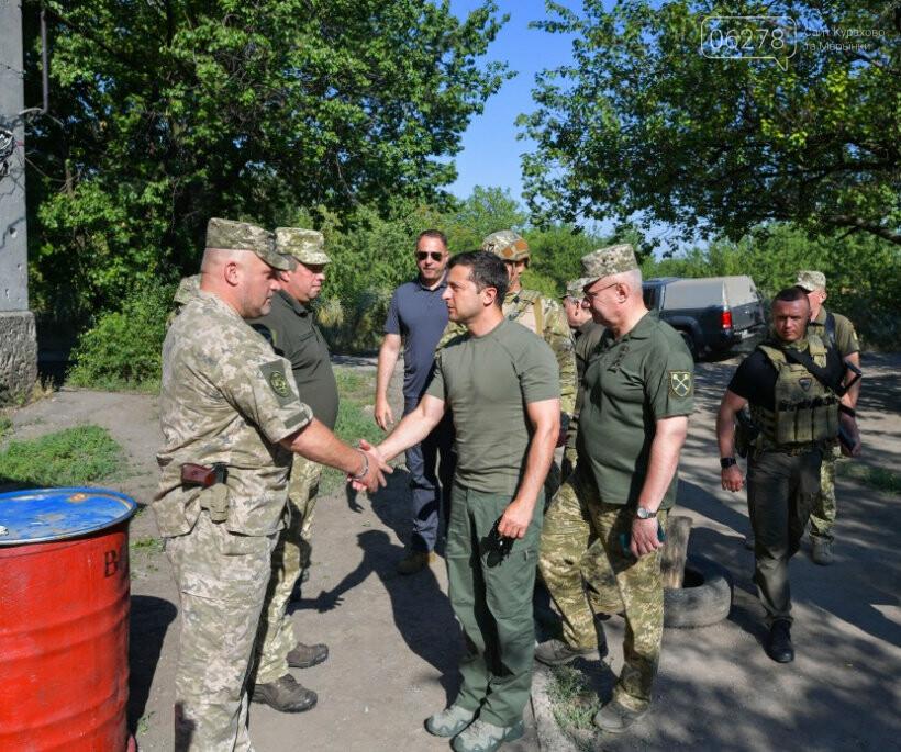 Президент Зеленский посетил Марьинку!, фото-1