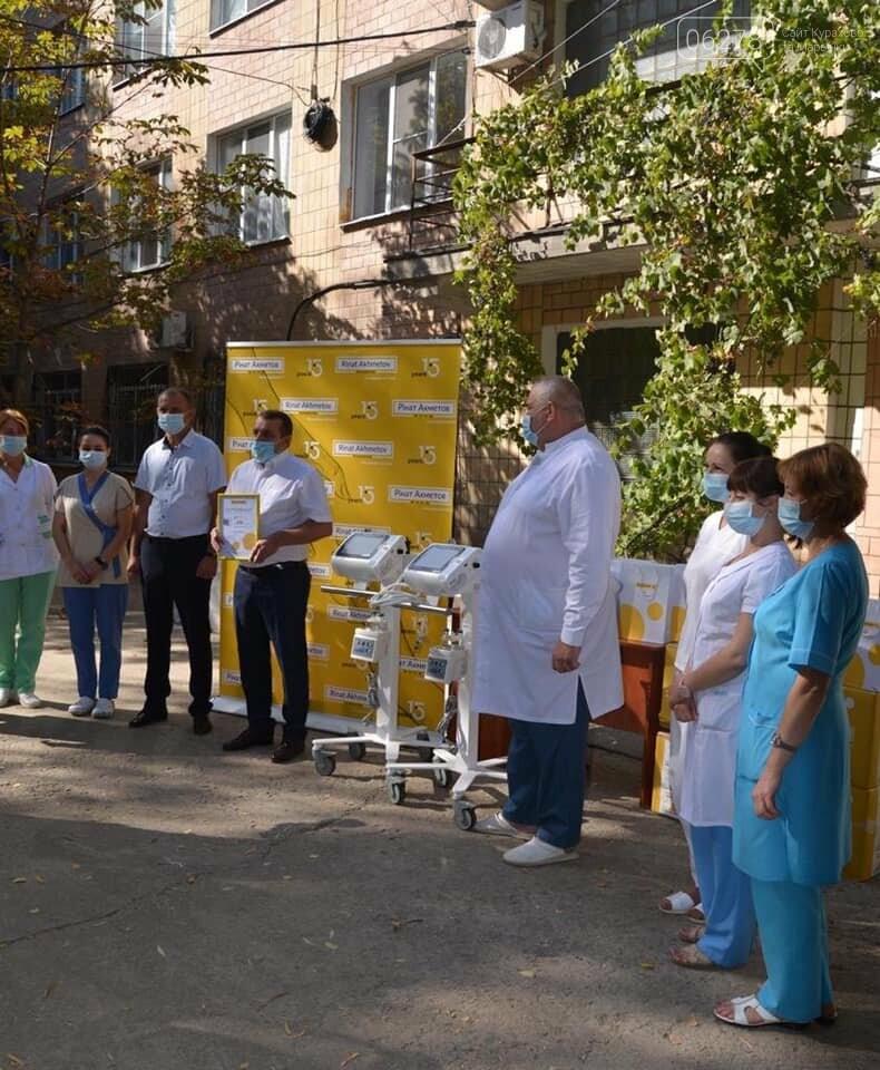 Новенькие аппараты вентиляции лёгких прибыли в Курахово!, фото-1