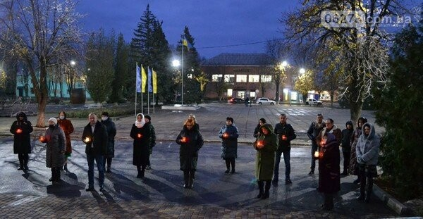 День памяти жертв Голодоморов в Курахово, Сайт Курахово и Марьинки