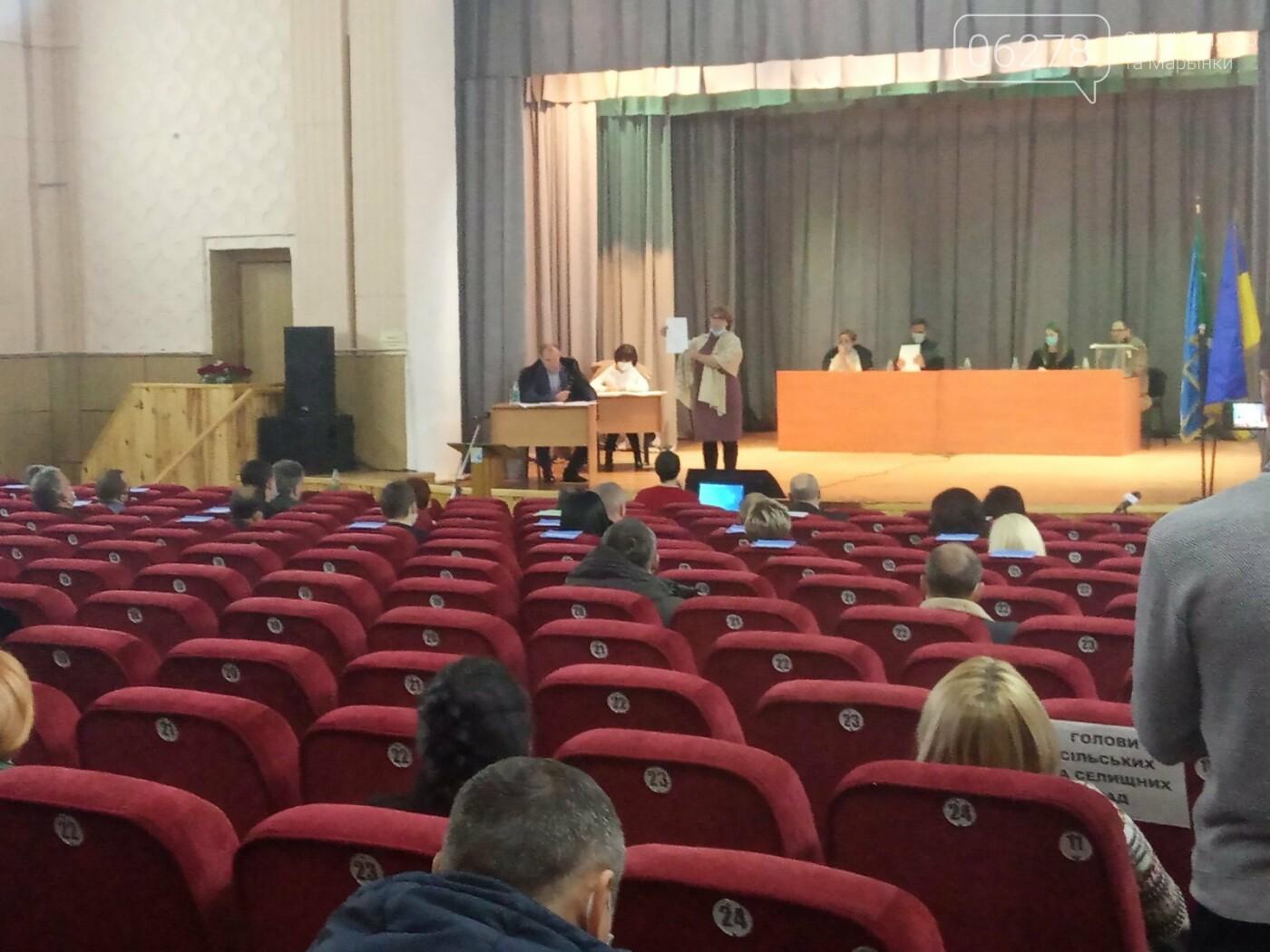 Первая сессия депутатаов Кураховской ОТГ, Сайт Курахово