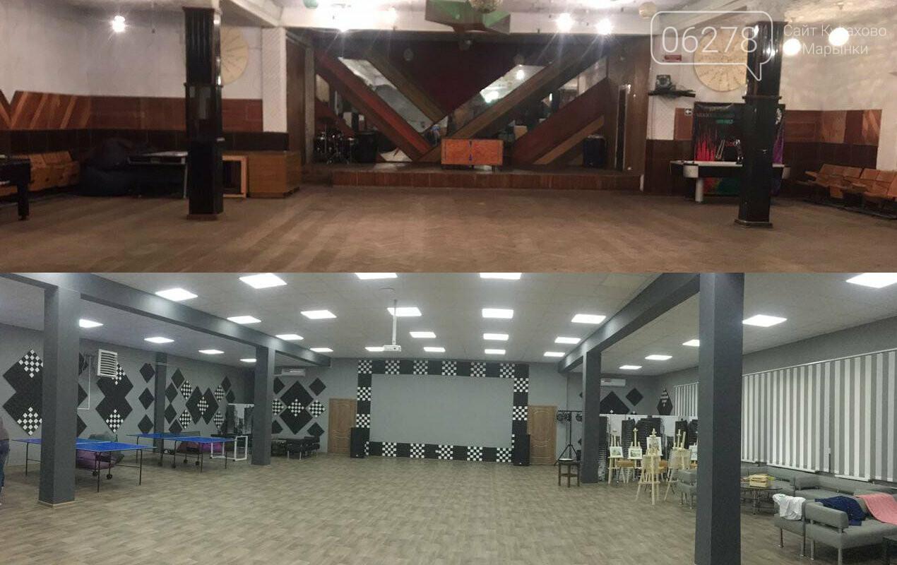 Молоджежный центр 380 вольт, Сайт Курахово