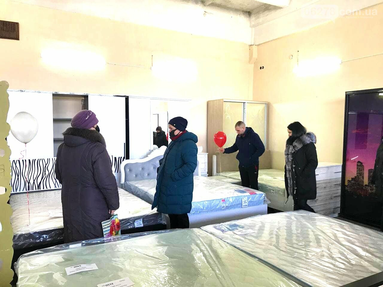 Открытие мебельного магазина в Курахово, Новости Курахово