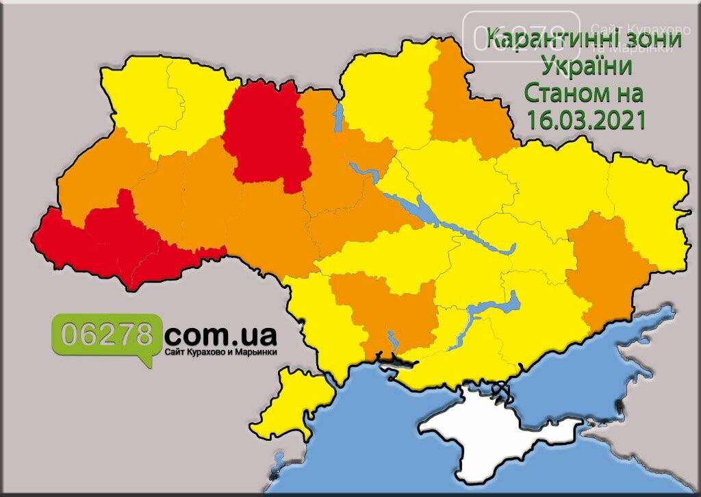 Карантинные зоны Украины, Новости Курахово